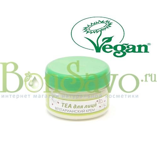 Вегетарианский крем ТЕА для лица 75 мл с солнцезащитным эффектом