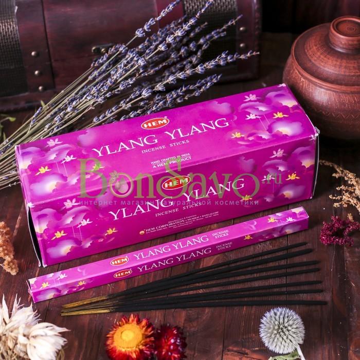 """Благовония """"Ylang-Ylang"""" (Иланг-Иланг), шестигранник, 20 палочек"""